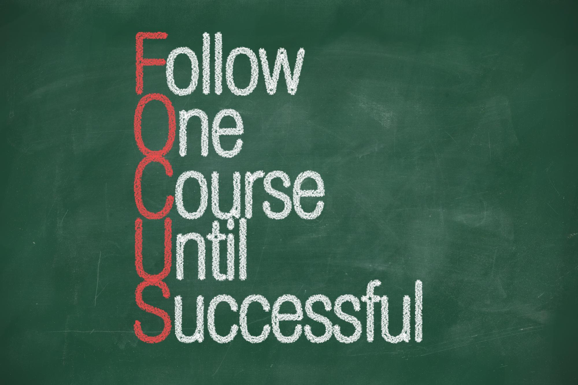 Fokus oder Diversifikation? Was macht dich erfolgreich?